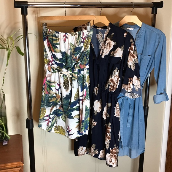 Boho Summer Dress Bundle with 3 different styles